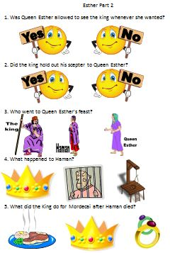 Bible Fun For Kids Esther Part 2