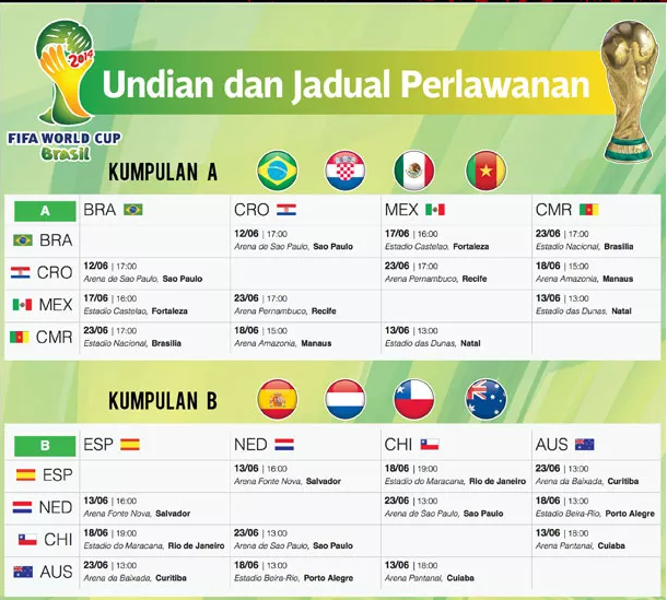 Schedule Aff Suzuki Cup