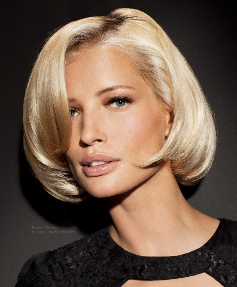 Short Layered Bob for Square Face