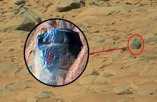 petroglifos en Marte