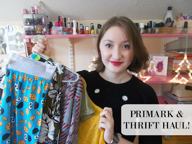 Primark & Thrift Haul video!