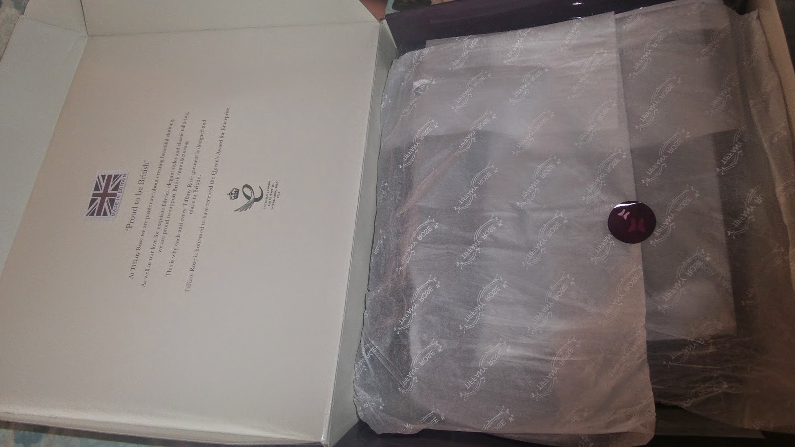 Tiffany Rose Maternity Wear Presentation Box Delivered