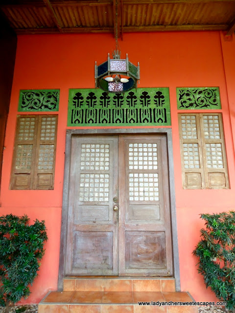antique doors at Rafael's Farm Leyte