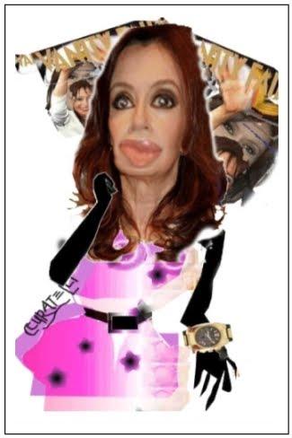 """Cristina F. de Kirchner /             """"El Chavo del 8"""""""