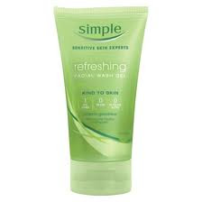 Simple Face Wash Gel