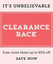 Clearance Rack  artikelen met korting