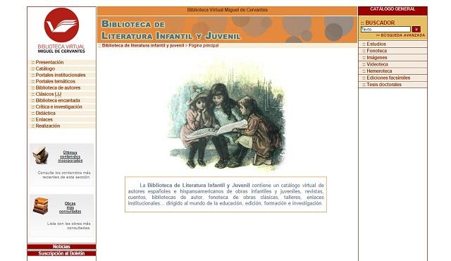 BIBLIOTECA DE LITERATURA INFANTIL Y JUVENIL MIGUEL DE CERVANTES