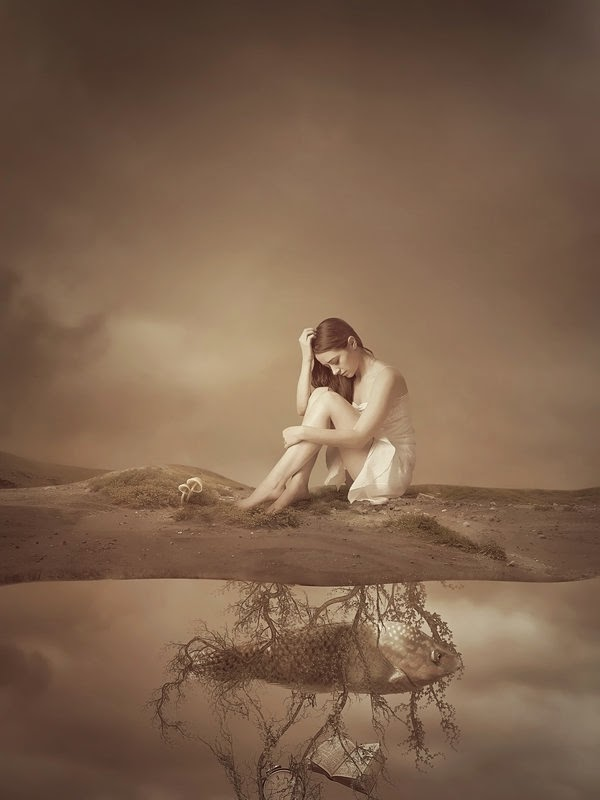 abstract photo manipulation by Amandine van Ray