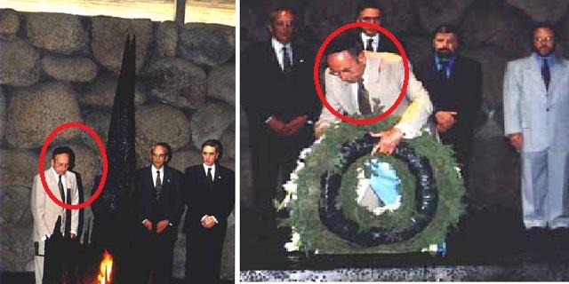 Γιατί πολύ ντόρος  έγινε για τον θάνατο του:Ο Κ. Στεφανόπουλος στο Μουσείο Ολοκαυτώματος των Εβραίων στο Ισραήλ.