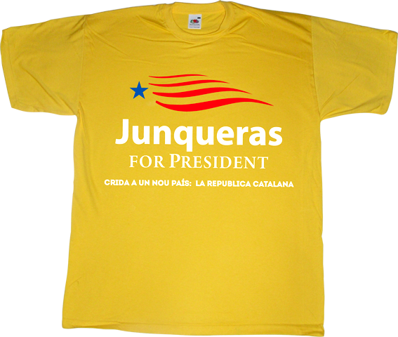 ERC oriol junqueras esquerra independence freedom catalonia t-shirt ephemeral-t-shirts