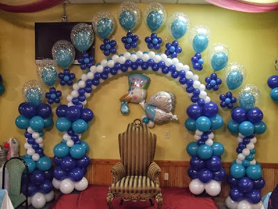 Como hacer decoracion con globos car interior design for Como hacer decoracion con globos