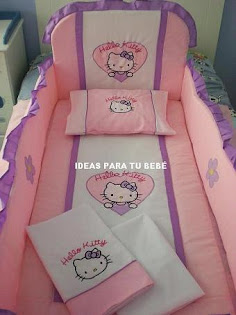 Edredón de cuna Hello Kitty (Mod.2)