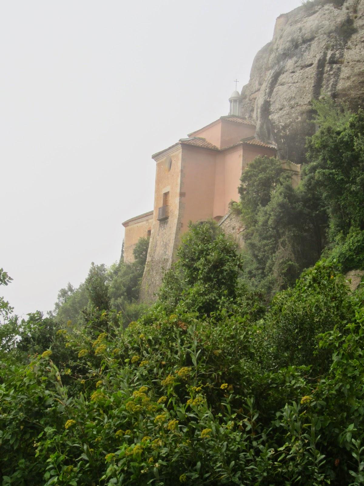 El blog del caminaire coves del salnitre monestir de montserrat coves del salnitre - Tiempo olesa de montserrat ...