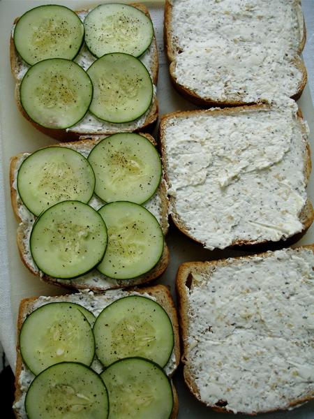 ... english cucumber sandwiches cucumber sandwiches makes 4 sandwiches
