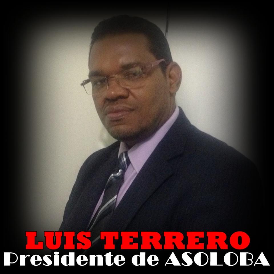 LUIS TERRERO, PRESIDENTE DE ASOLOBA