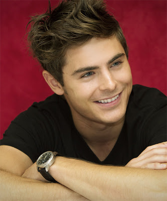 ZAC EFRON COOL SPIKE HAIRSTYLE