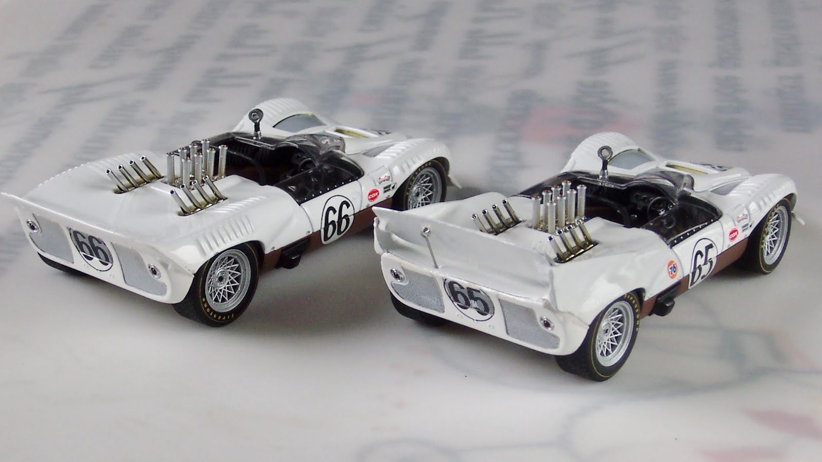 Modifications of 1:43 models: Chaparral