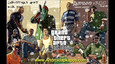 Grand Theft Auto (GTA) San Andreas 1.06 Full Patched Apk + Data