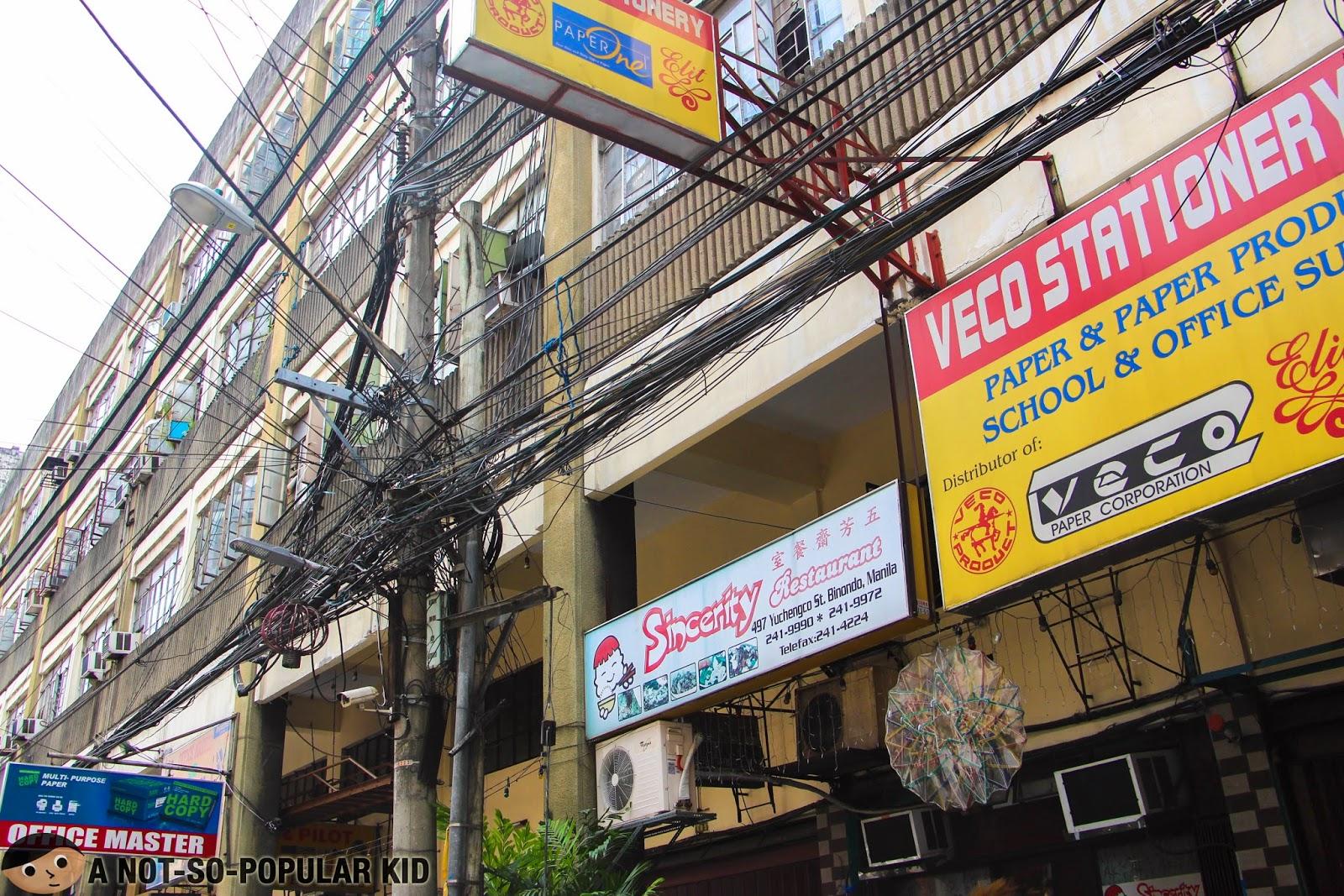 Binondo Food Trip - Sincerity Restaurant