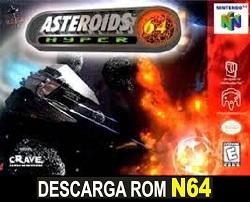 Asteroids Hyper 64 64 ROMs Nintendo64
