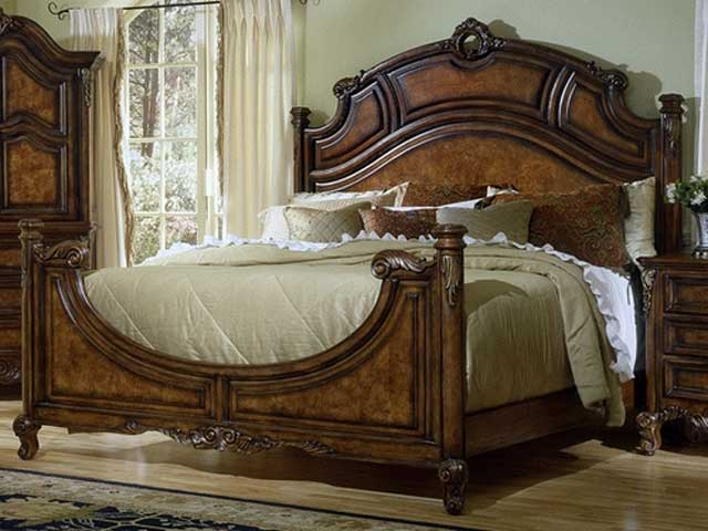 Indian Wooden Bed Designs (6 Image)