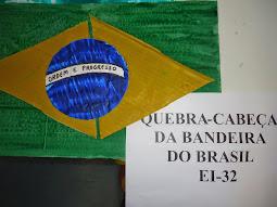 Quebra-Cabeça Bandeira do Brasil