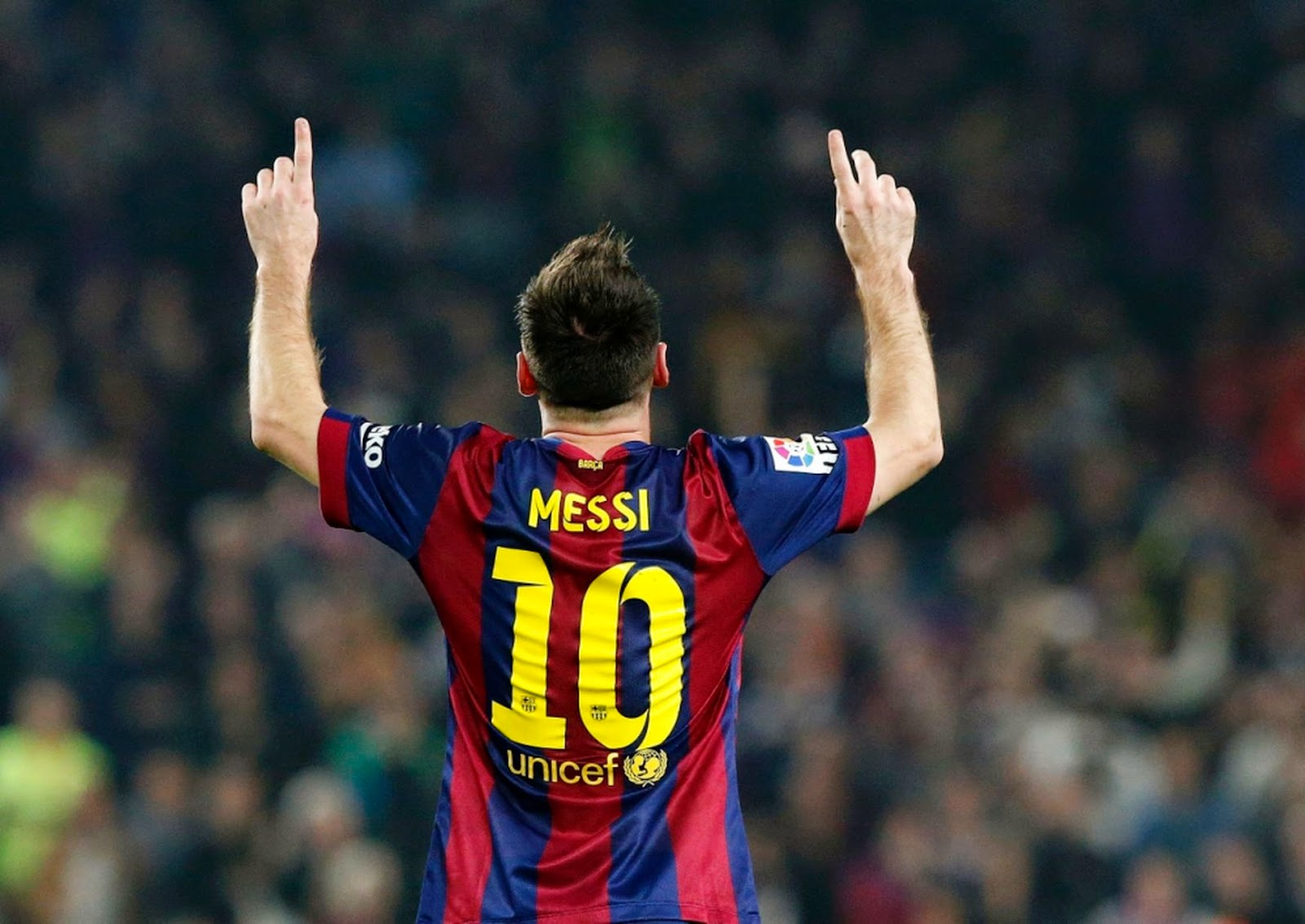 Lionel Messi is the greatest player ever