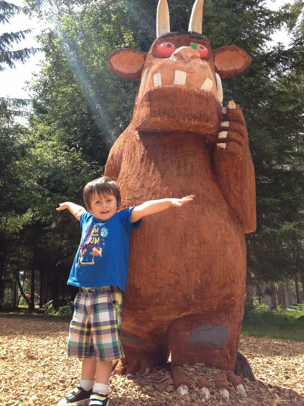Hunting for the Gruffalo