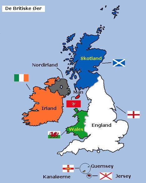 lande i storbritannien