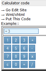 wapka calculator codes