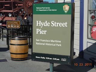 hyde street pier at fishermans wharf