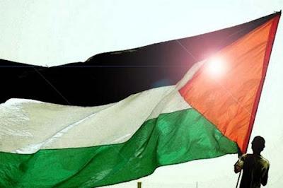 Palestine fêtent leur statut d' Etat observateur