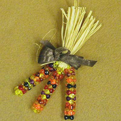 Craft Ideas India on Familycorner Com  The Blog  Make An Indian Corn Pin