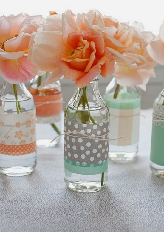 http://www.weddingsbylilly.com/my-favorites/washi-tape-vase-decor/