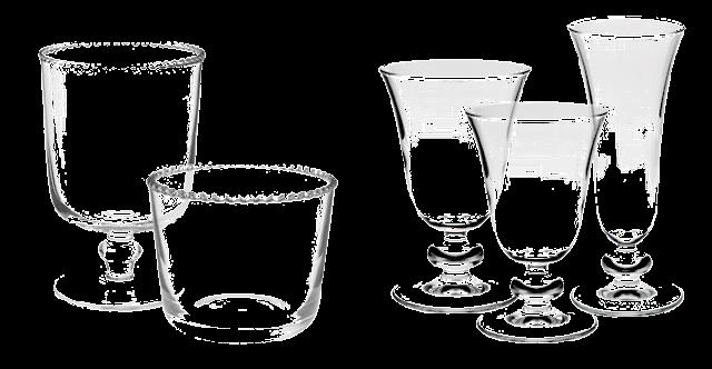 vasos y copas zara home