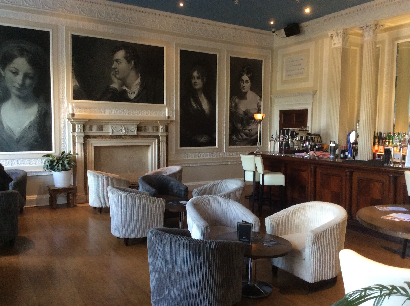 Afternoon Tea at Byron\'s Brasserie, Colwick Hall Hotel, Nottingham ...