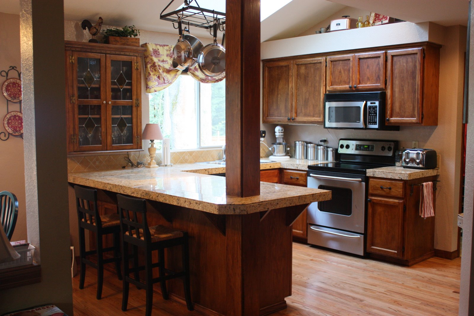 Home is where my story begins kitchen before and after for Kitchen renovation before and after