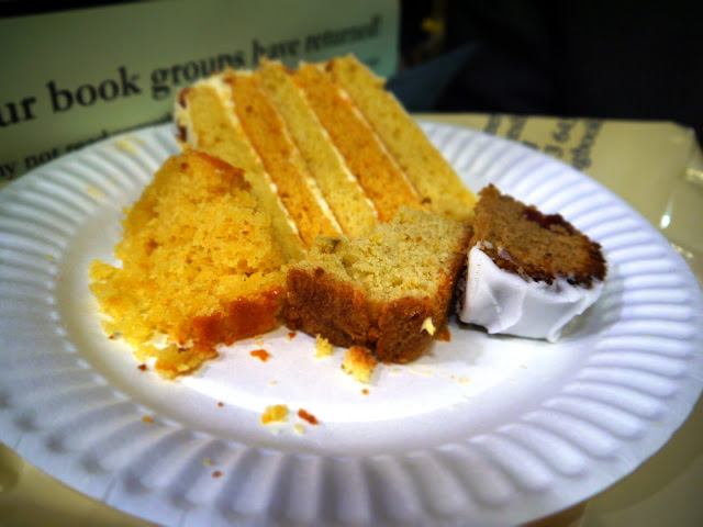 Clandestine Cake Club at Toppings Bookshop, Bath