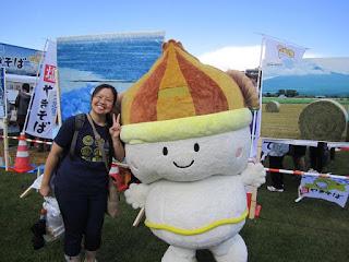 Ohotsk Kitami Shio Yakisoba Ouentai 2015 B-1 Grand Prix in Towada