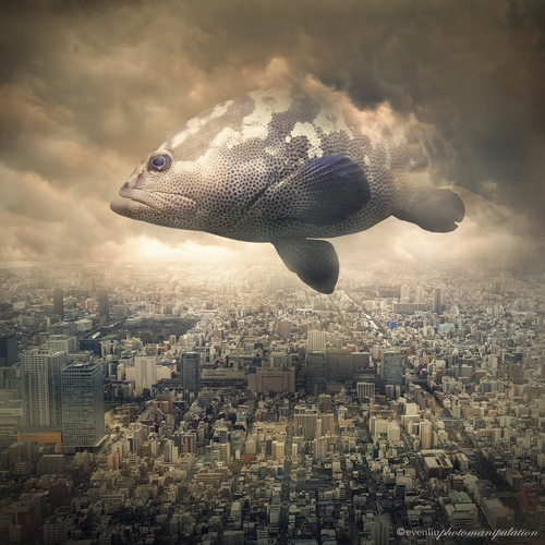 10-Sky-Traveller-Even-Liu-Surreal-Photo-Manipulations-and-the-Lantern-www-designstack-co