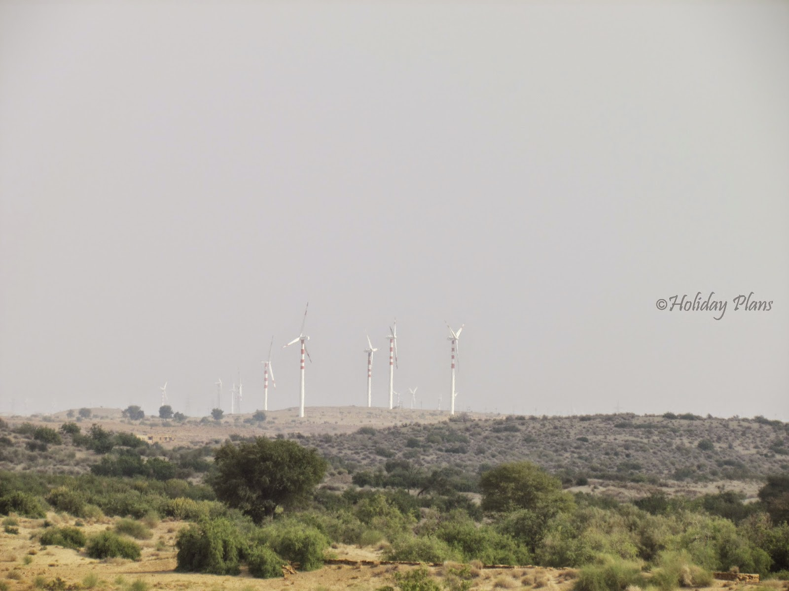 View From Train-Windmills