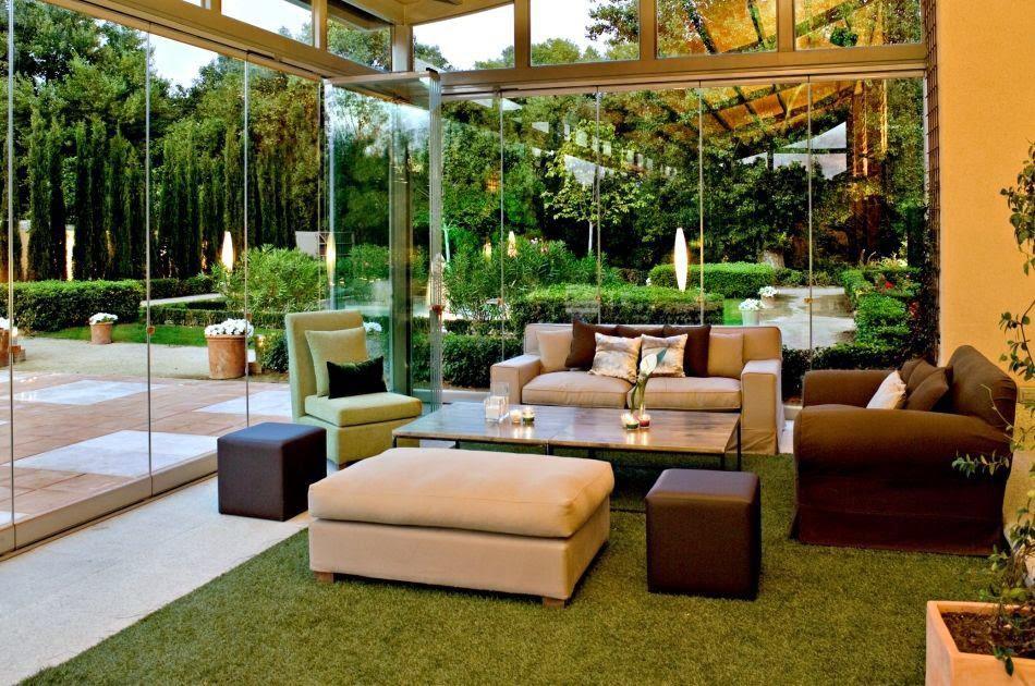 Cierres de lujo cerramientos y cubiertas para piscinas for Cierres de jardin