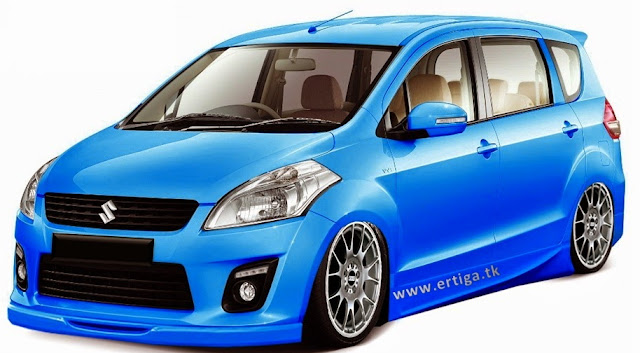 Suzuki ertiga cooper blue
