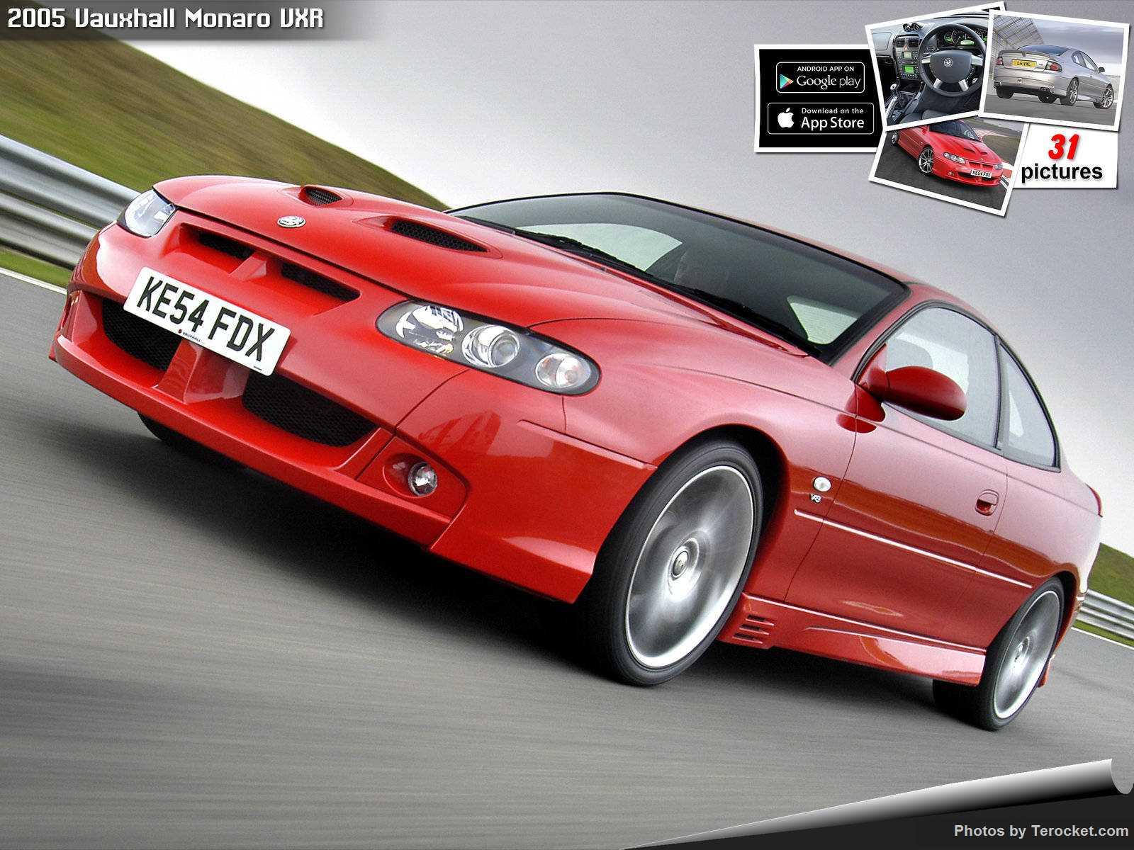 Hình ảnh xe ô tô Vauxhall Monaro VXR 2005 & nội ngoại thất