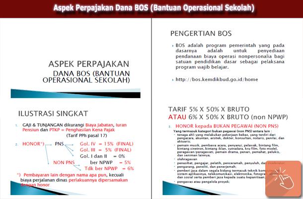 Aspek Perpajakan Dana BOS (Bantuan Operasional Sekolah)