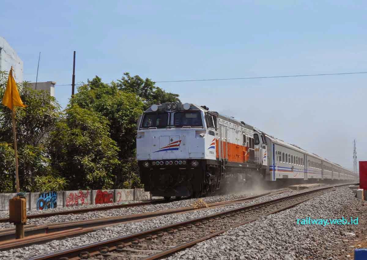 rangkaian kereta api jayabaya