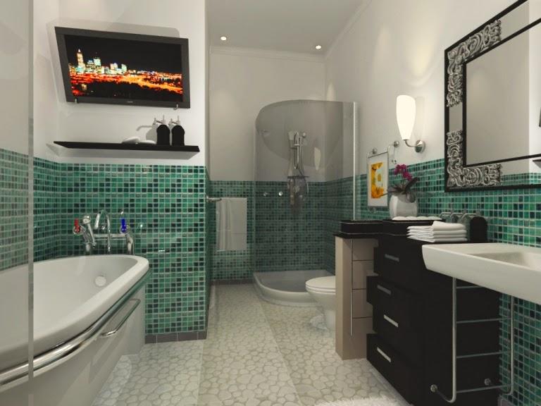 Model kamar mandi minimalis 5