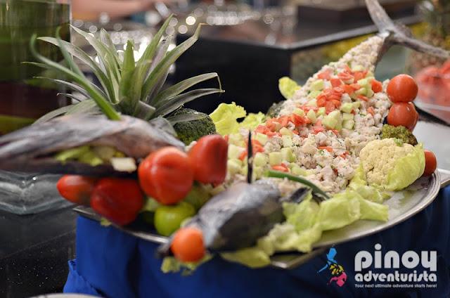 Fresh Seafood at Sea Breeze Restaurant Boracay