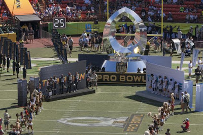Team Irvin vs Team Rice at Pro Bowl
