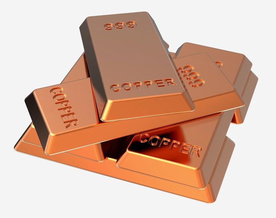 Copper decline as demand in China slumps